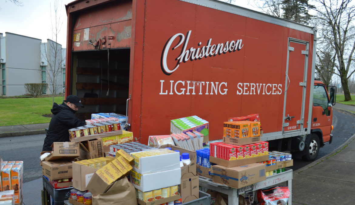 Christenson Electric, Community Members Support Local Elementary School